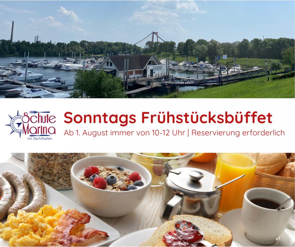 Schute Marina Frühstücksbuffet